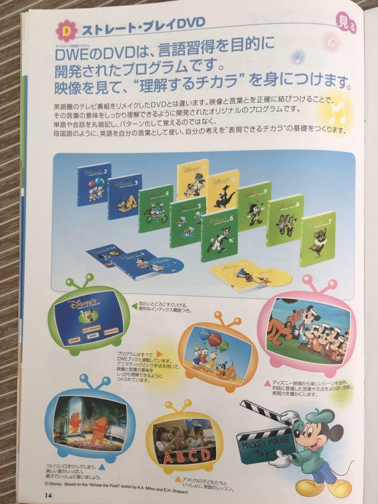DWE ディズニーワールドイングリッシュ ストレートプレイ DVD 12巻 テキスト付_画像2