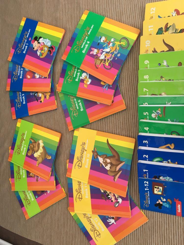 DWE ディズニーワールドイングリッシュ ストレートプレイ DVD 12巻 テキスト付