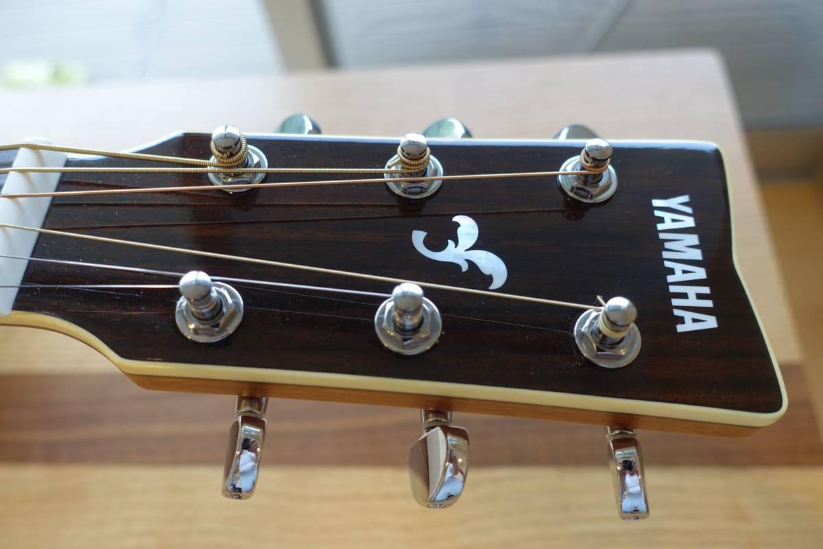 ヤマハアコースティックギターFG840、純正ソフトケース付き(中古品)_画像4