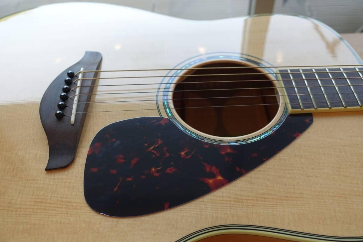 ヤマハアコースティックギターFG840、純正ソフトケース付き(中古品)_画像5