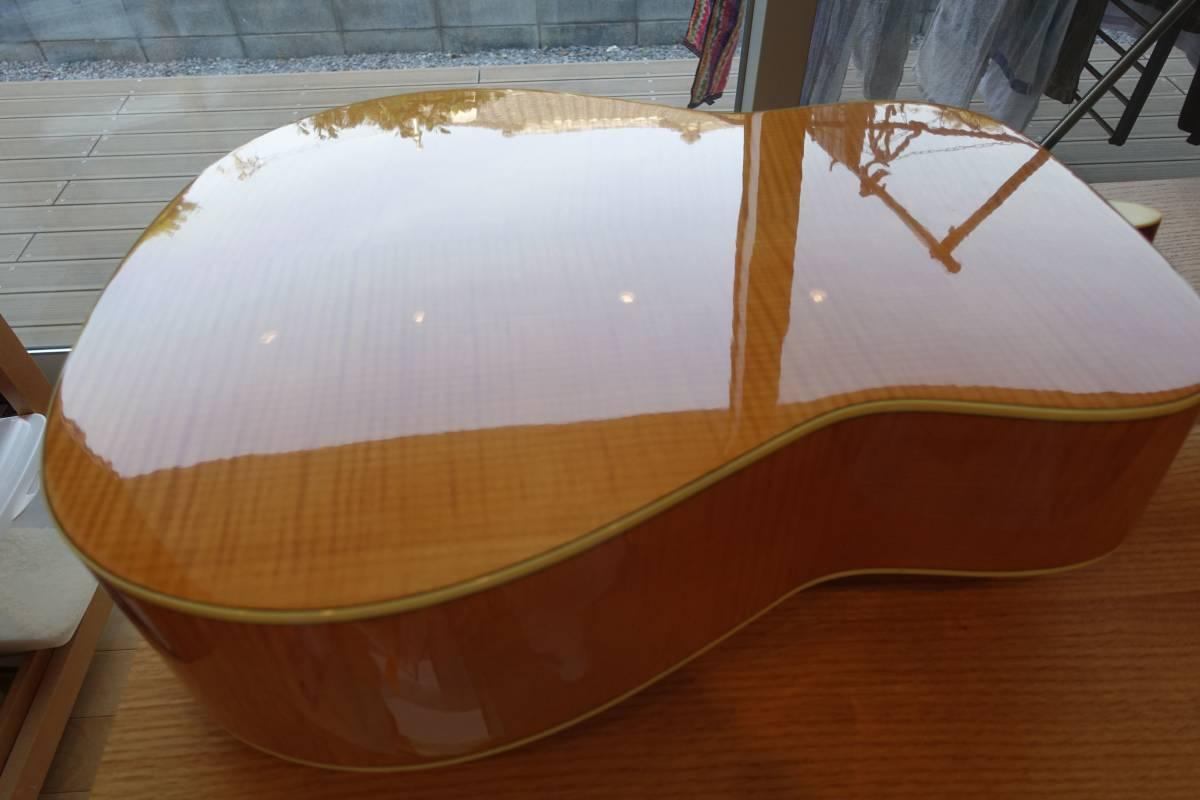 ヤマハアコースティックギターFG840、純正ソフトケース付き(中古品)_画像6