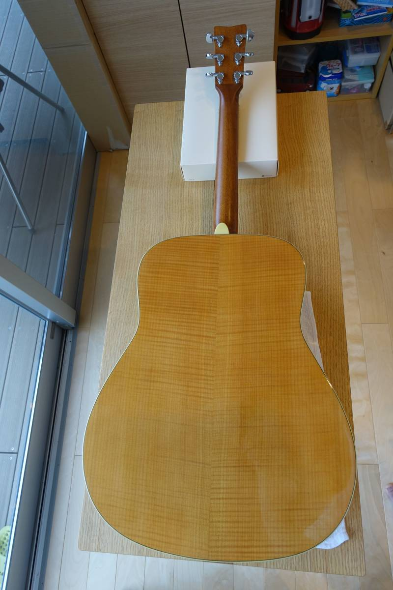 ヤマハアコースティックギターFG840、純正ソフトケース付き(中古品)_画像2