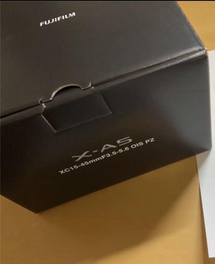 新品★富士フイルムミラーレス一眼カメラ★ブラウン★ FUJIFILM X-A5