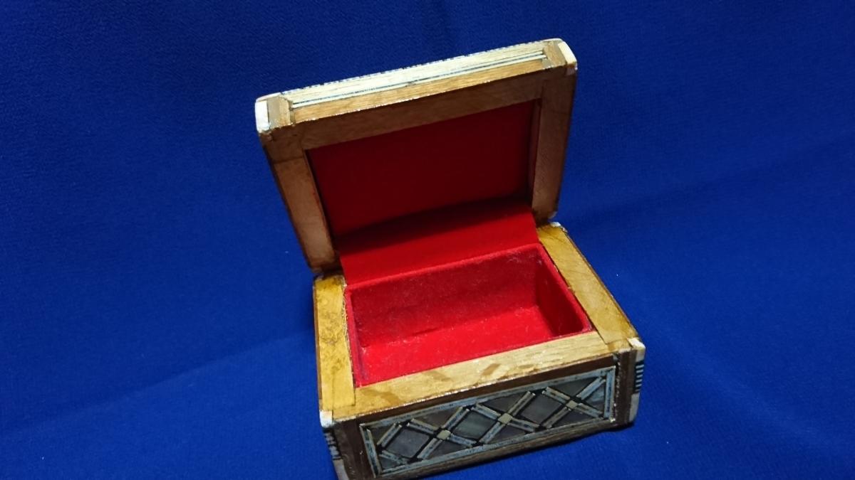 アンティーク 木製 小物入れ_画像5