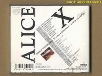 ★即決★ アリス / ALICE X -- 1987年発表、10枚目アルバム_画像2