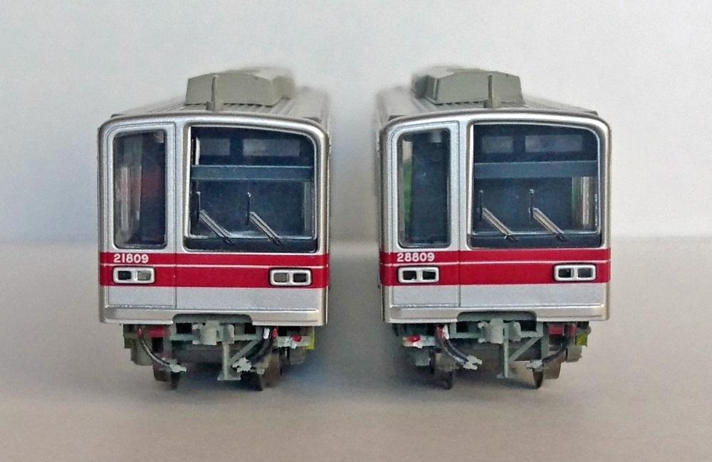 東武 20000系・20050系 先頭部床下パーツ (1編成分)