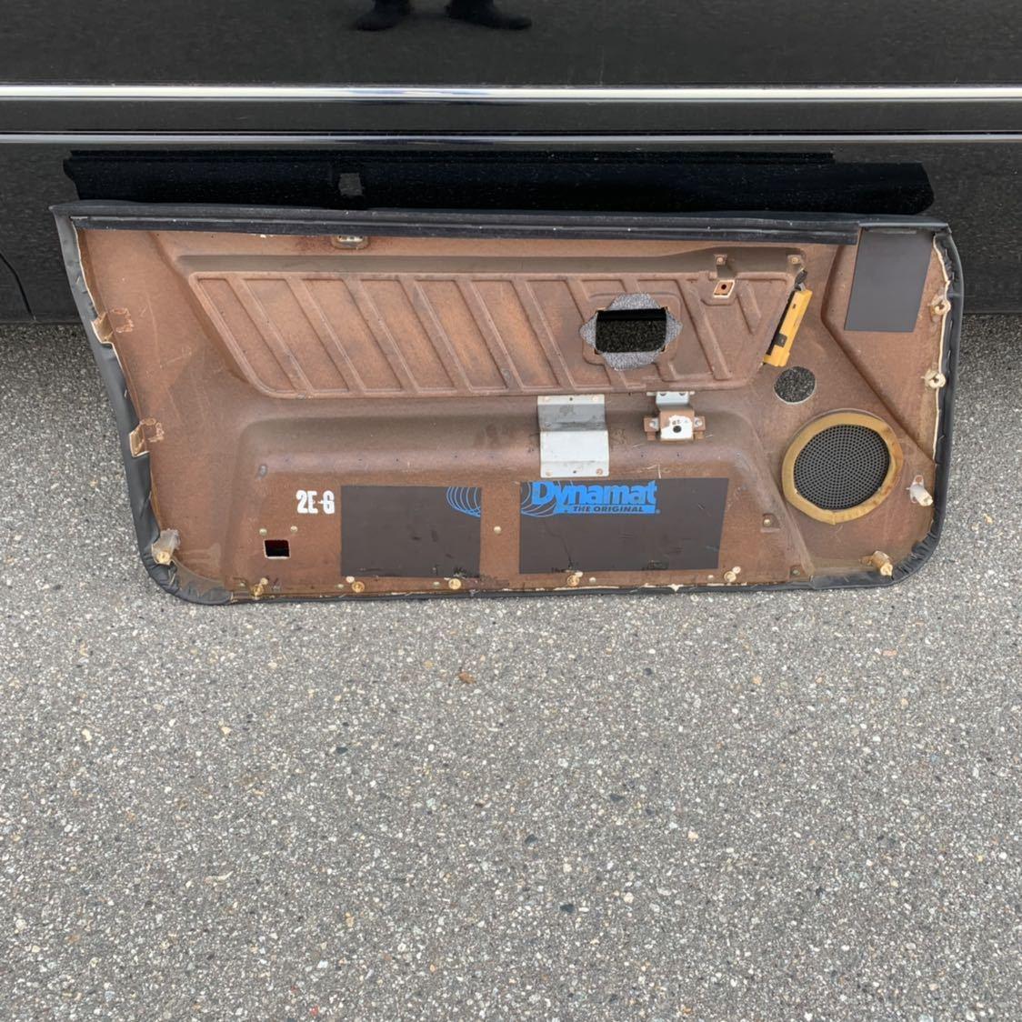 HR31 R31 スカイライン 2ドア GTS-R 右側 ドア内張り 穴あけ有り 限定車 ニスモ仕様_画像6