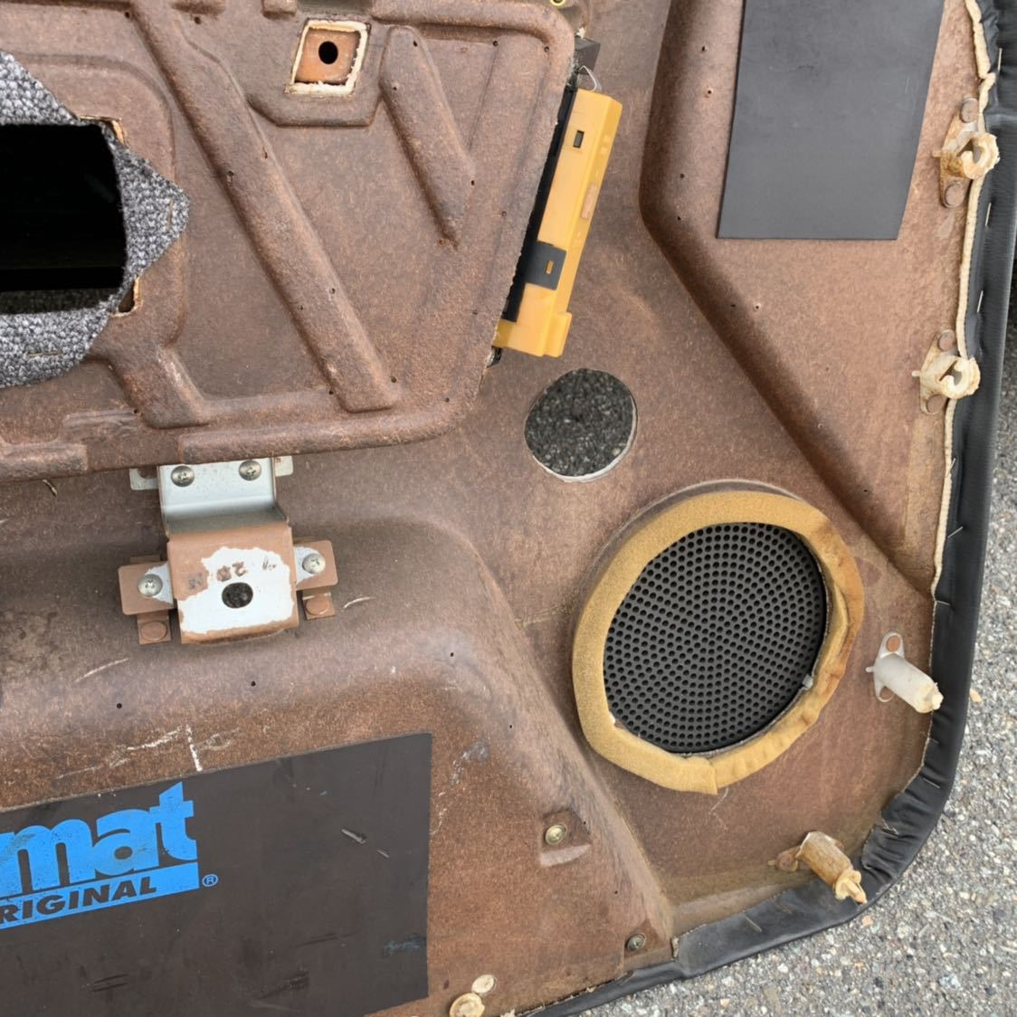 HR31 R31 スカイライン 2ドア GTS-R 右側 ドア内張り 穴あけ有り 限定車 ニスモ仕様_画像8