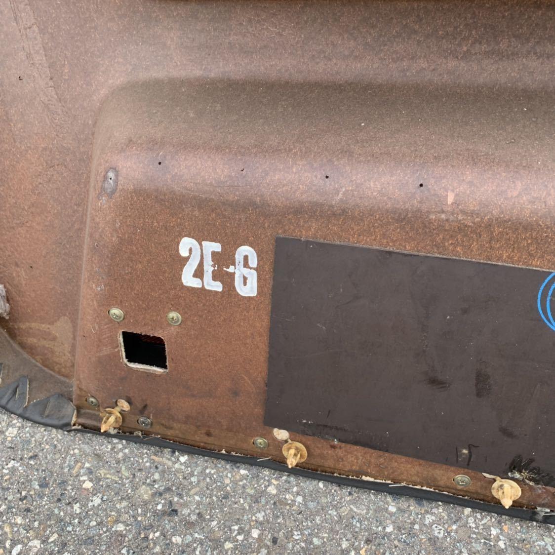 HR31 R31 スカイライン 2ドア GTS-R 右側 ドア内張り 穴あけ有り 限定車 ニスモ仕様_画像9
