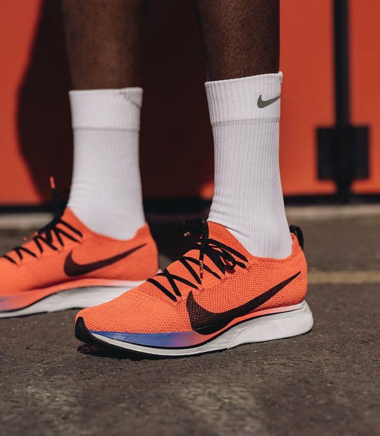 25.5cm NIKEオンライン購入 Nike Zoom Vaporfly 4% Flyknit ナイキ ズーム ヴェイパーフライ フライニット 大迫 新品未使用_画像2
