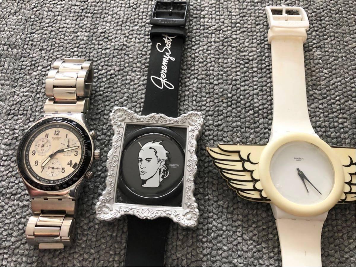 腕時計 大量セットまとめて SWATCH スウォッチ ポールスミス FOSSIL ドルチェ&ガッバーナ D&G TENDENCE バーバリー ハイドロゲン トミー_画像2