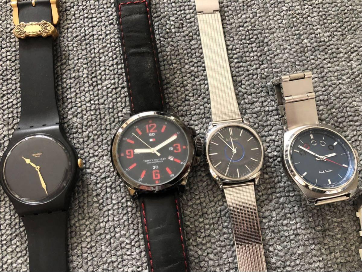 腕時計 大量セットまとめて SWATCH スウォッチ ポールスミス FOSSIL ドルチェ&ガッバーナ D&G TENDENCE バーバリー ハイドロゲン トミー_画像3
