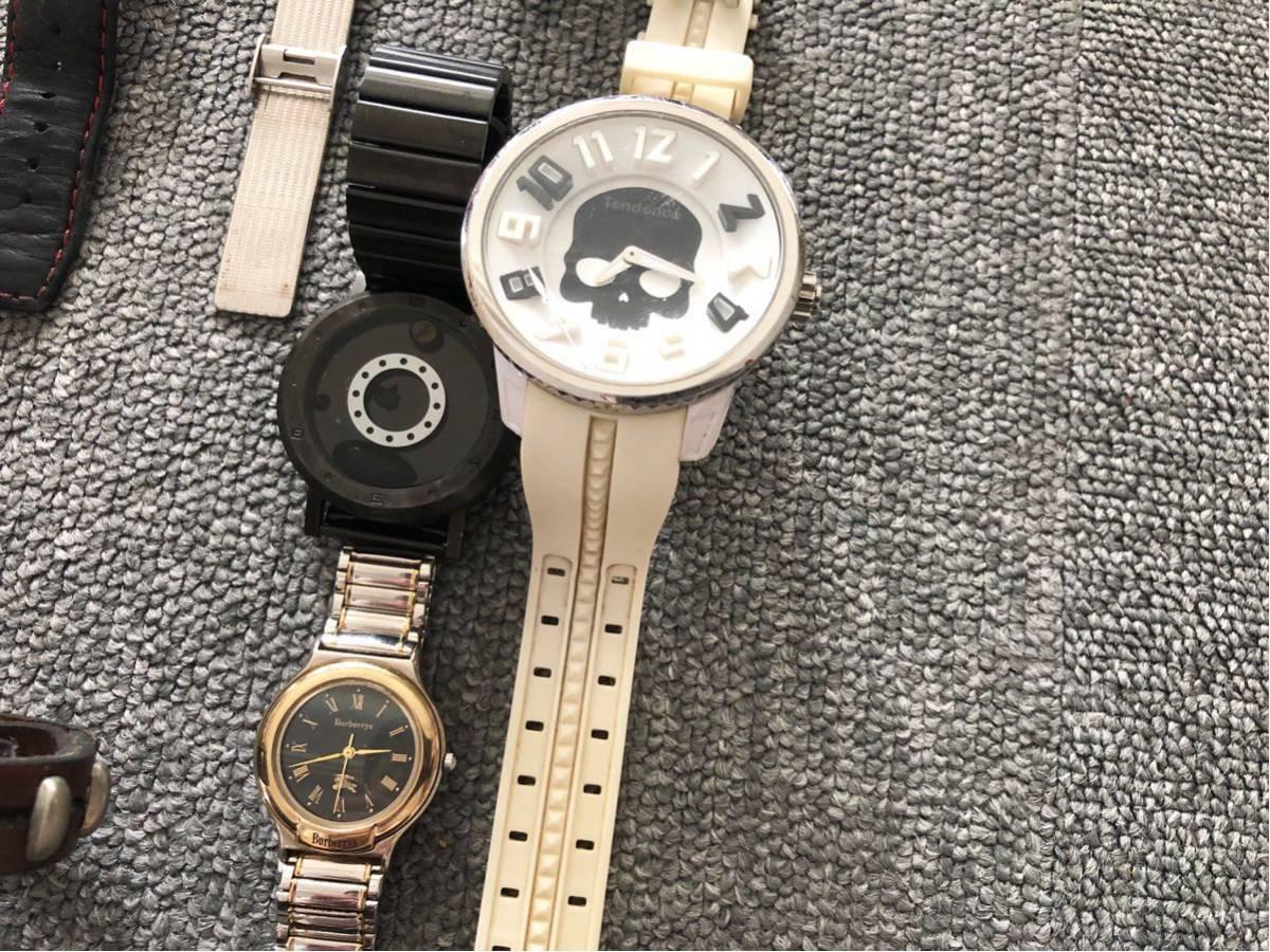 腕時計 大量セットまとめて SWATCH スウォッチ ポールスミス FOSSIL ドルチェ&ガッバーナ D&G TENDENCE バーバリー ハイドロゲン トミー_画像6