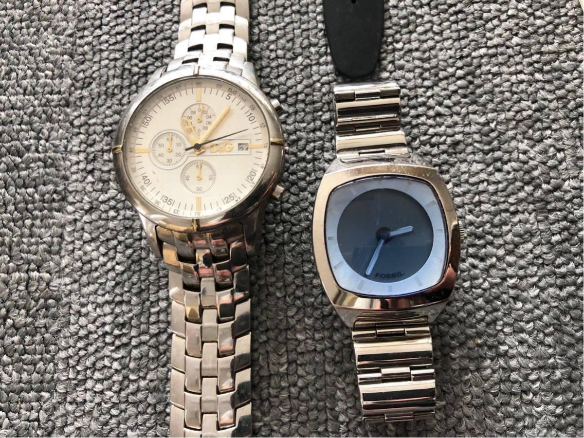 腕時計 大量セットまとめて SWATCH スウォッチ ポールスミス FOSSIL ドルチェ&ガッバーナ D&G TENDENCE バーバリー ハイドロゲン トミー_画像4