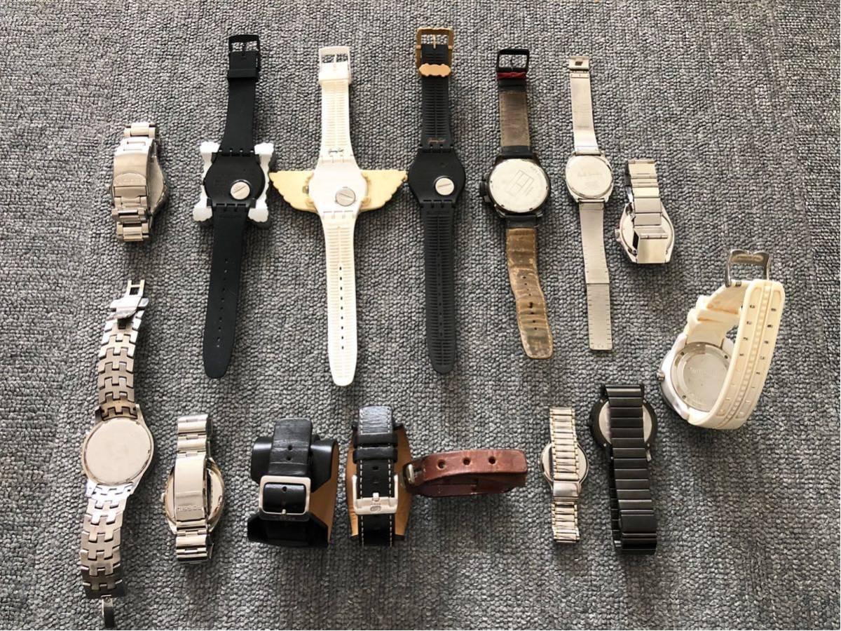 腕時計 大量セットまとめて SWATCH スウォッチ ポールスミス FOSSIL ドルチェ&ガッバーナ D&G TENDENCE バーバリー ハイドロゲン トミー_画像8