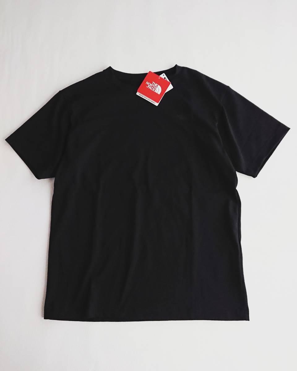 THE NORTH FACE ショートスリーブ スクエア ロゴ Tシャツ ブラック XL ザ ノース フェイス ボックスロゴ_画像3