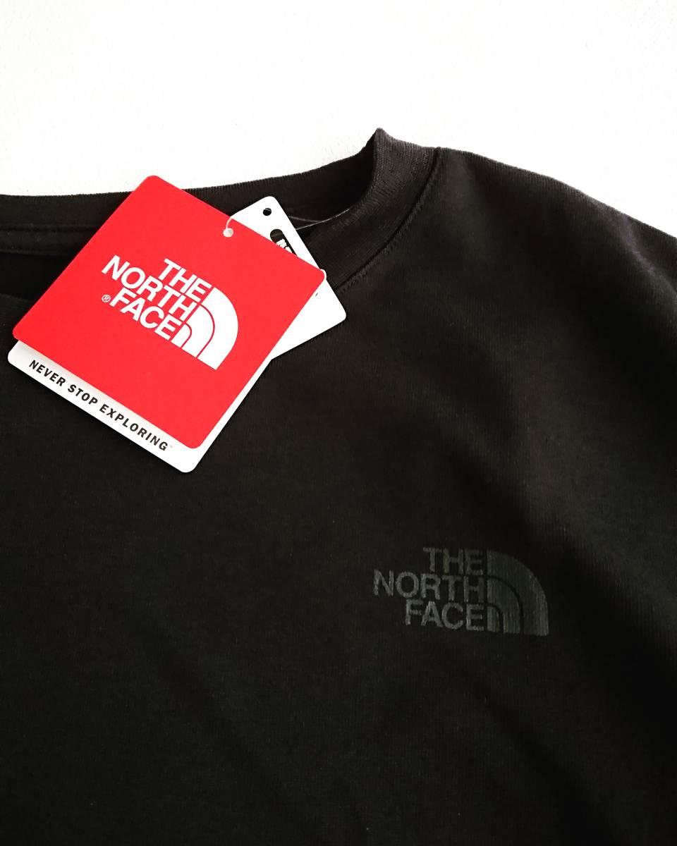 THE NORTH FACE ショートスリーブ スクエア ロゴ Tシャツ ブラック XL ザ ノース フェイス ボックスロゴ_画像4