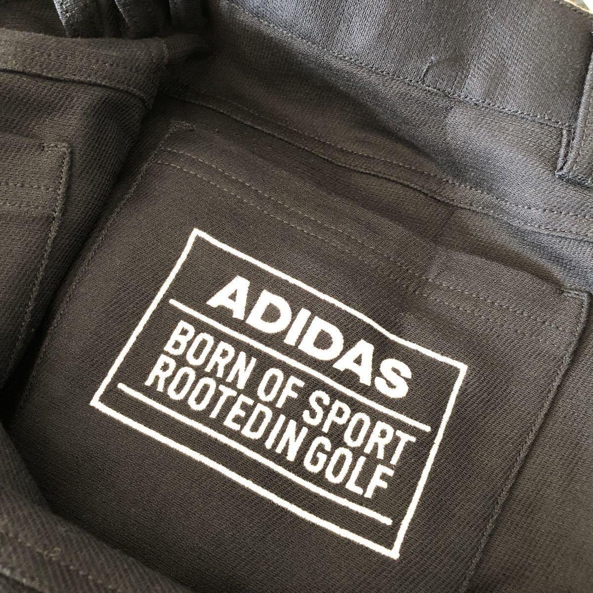 未使用品 アディダス adidas ゴルフウェア スラックス パンツ ストレッチ ネイビー 85_画像5