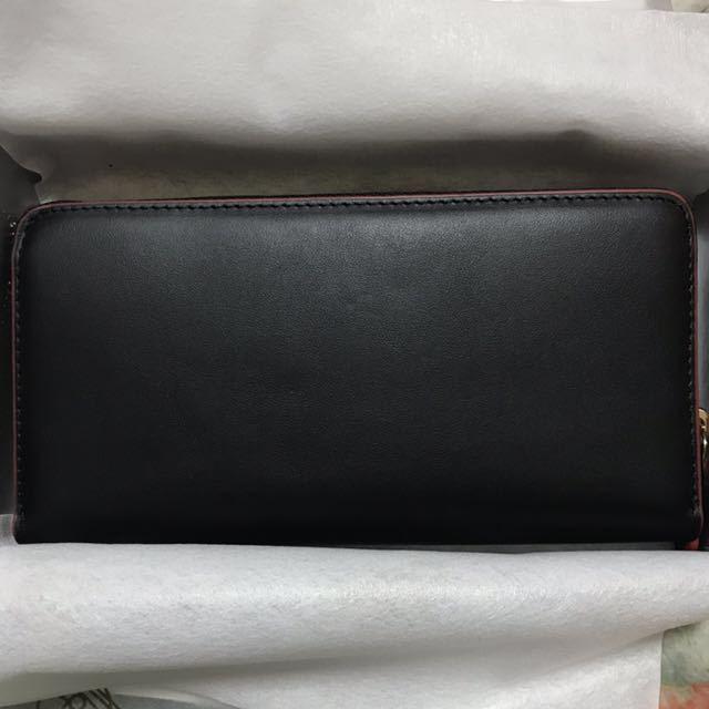 8c865a92fd68 代購代標第一品牌- 樂淘letao - ヴィヴィアンウエストウッド黒マッドブラック赤フチ財布ラウンドファスナー長財布Vivienne Westwood  2