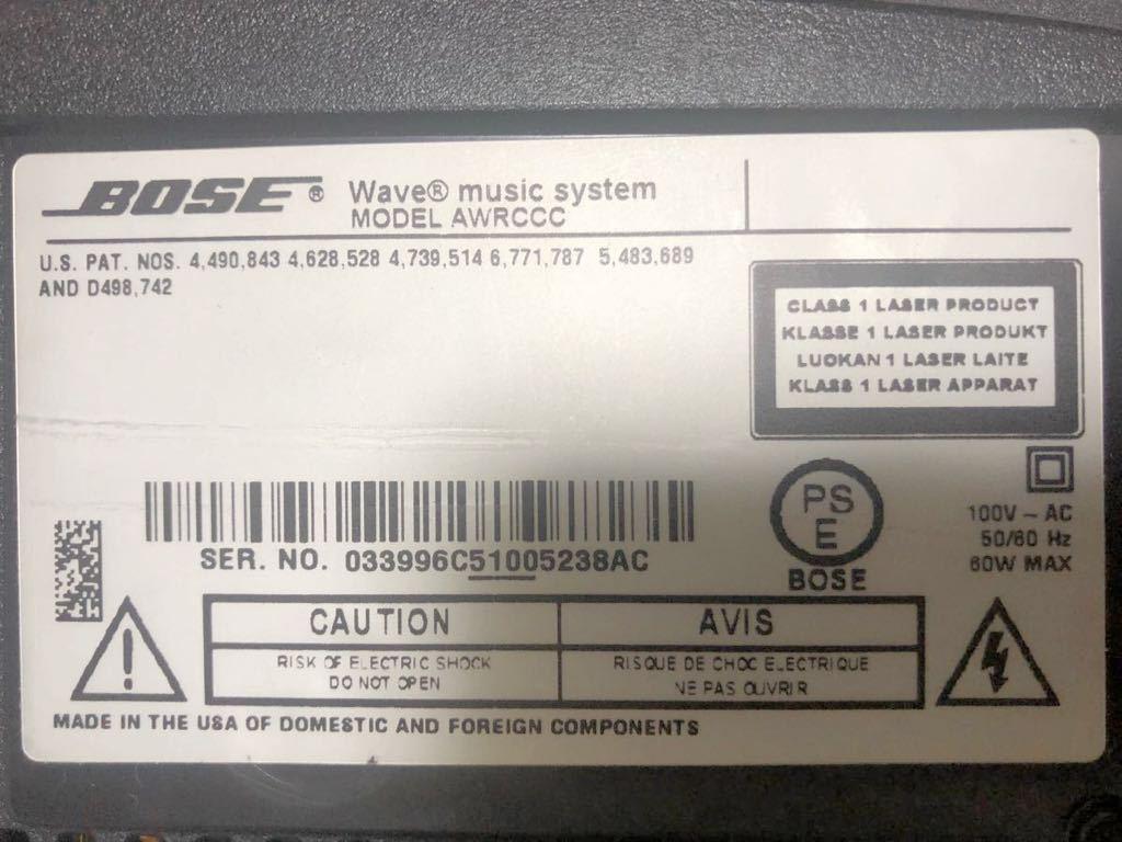 BOSE ウェーブミュージックシステム CD/CD-R/CD-RW_画像6