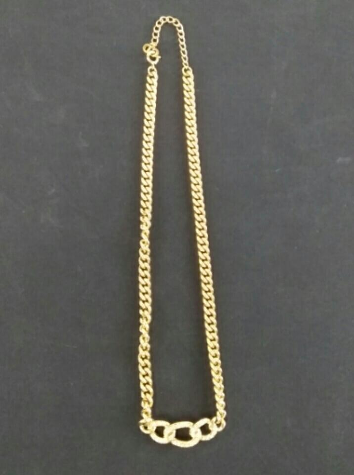 【H952】美品 Christian Dior クリスチャンディオール ネックレス イヤリングセット_画像2