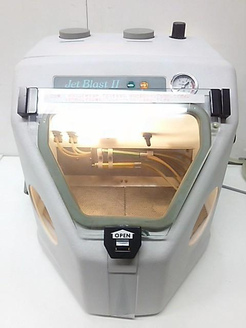 モリタ ジェットブラストII HB-1 サンドブラスター 歯科技工 ※通電確認のみ~ジャンク品_画像2