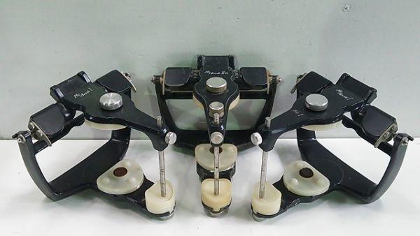 【1円スタート!】 松風 プロアーチ咬合器 3台セット (ProArchI 2個 / ProArchIIG 1個) 歯科技工