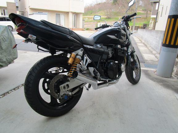 ヤマハXJR400R rh02Jステップ。ペダル、ブレーキ回り一式 ブレンボ(検索XJR4004HM)_画像6