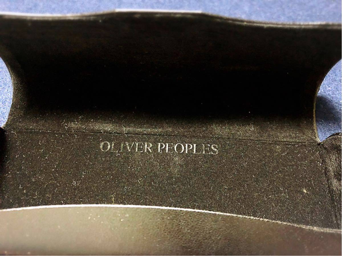 OLIVER PEOPLES オリバーピープルズ Gregory Peck 45口23 150 正規店購入品 度入りカラーレンズ付き _画像9