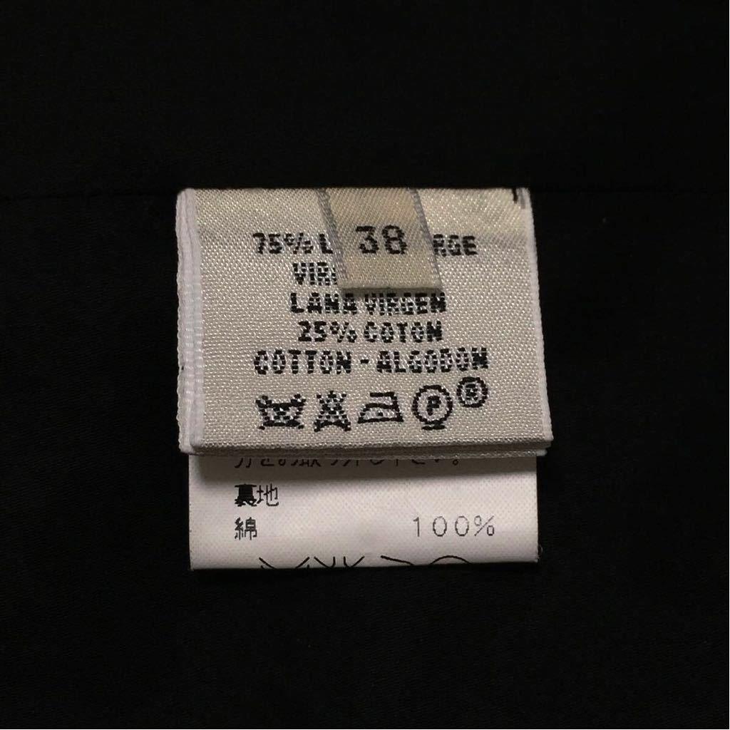 【E1329】超レア品 HERMES エルメス マルタン マルジェラ がデザインした 変身3WAY!《トレンチ/ステンカラー/ガウン》コート 男女着用可_画像10