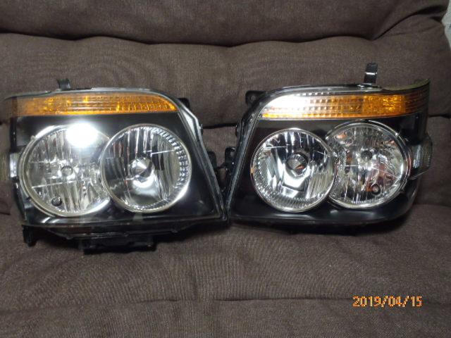 S331 321系 アトレー 後期純正HIDヘッドライト左右 レベライザー車両 クリア塗装品