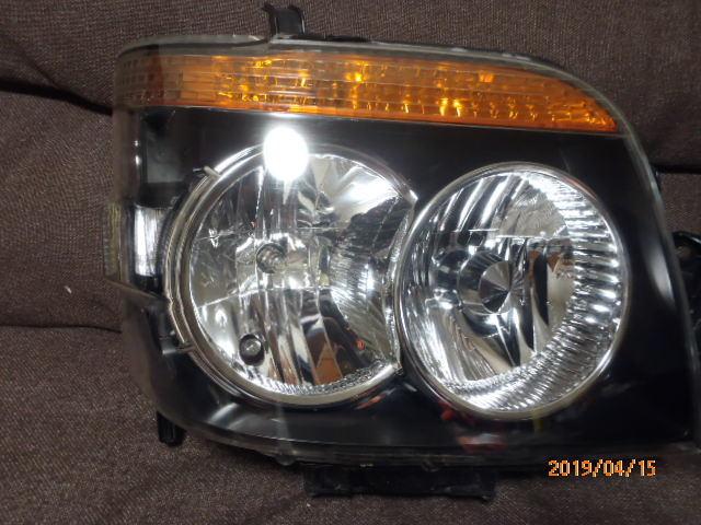 S331 321系 アトレー 後期純正HIDヘッドライト左右 レベライザー車両 クリア塗装品_画像3