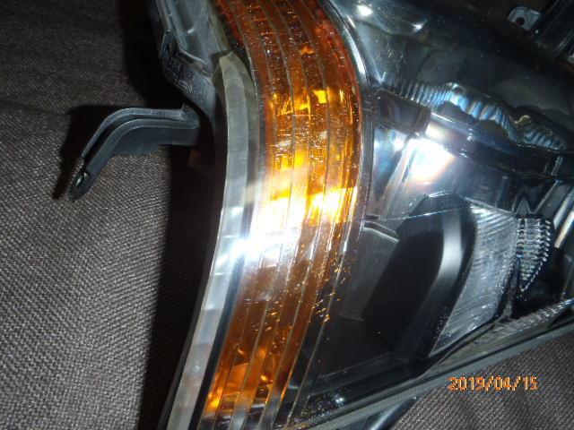S331 321系 アトレー 後期純正HIDヘッドライト左右 レベライザー車両 クリア塗装品_画像4