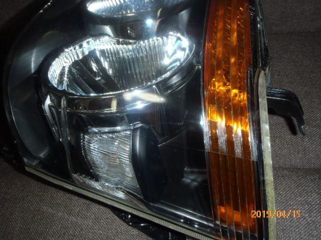 S331 321系 アトレー 後期純正HIDヘッドライト左右 レベライザー車両 クリア塗装品_画像5