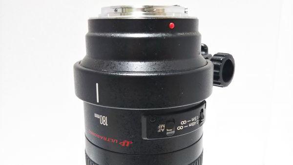 ★ 外観美品 ★ キャノン Canon EF 180mm F3.5 L MACRO USM マクロ 三脚座付 動作品_画像5