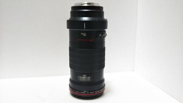 ★ 外観美品 ★ キャノン Canon EF 180mm F3.5 L MACRO USM マクロ 三脚座付 動作品_画像4