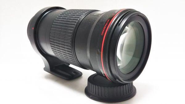 ★ 外観美品 ★ キャノン Canon EF 180mm F3.5 L MACRO USM マクロ 三脚座付 動作品_画像10