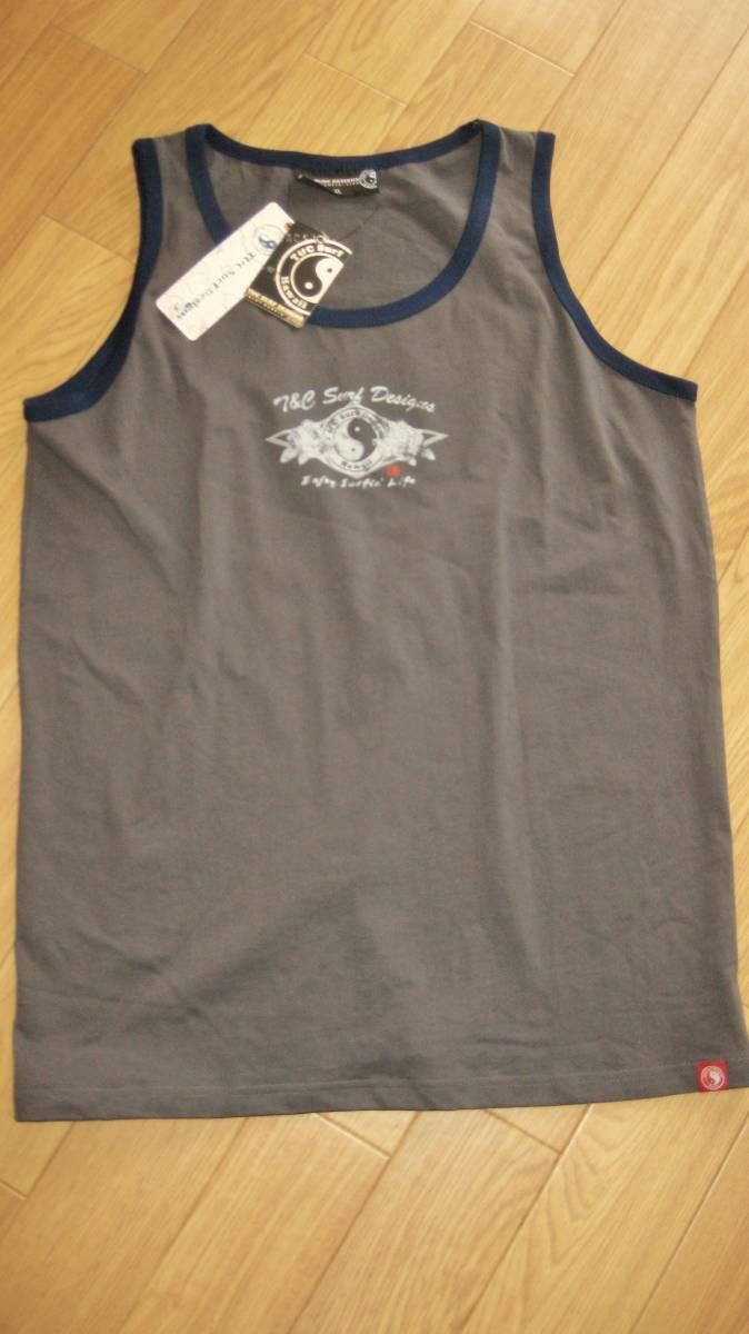 夏の2枚組だよ!★フライングスコットマンとT&Cタウン&カントリー.メンズ半袖TシャツとタンクトップXLサイズ2点Aセット_画像3