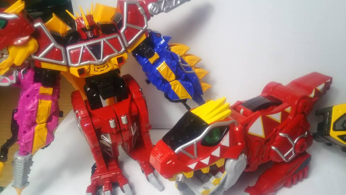 獣電戦隊キョウリュウジャー DX キョウリュウジン ガブリボルバー ガブリカリバー 獣電池 ガブティラデカーニバル まとめて 中古 スーパー_画像5