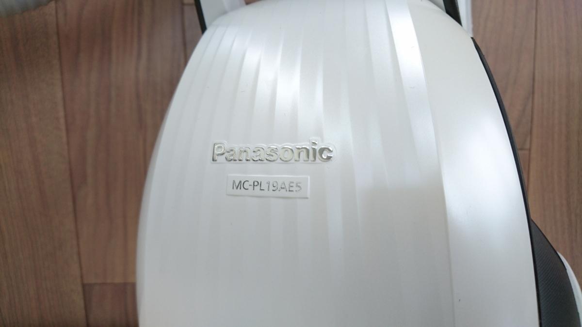 Panasonic パナソニック 掃除機 紙パック式 18年製 MC-PL19AE5 美品 ◯B3_画像4