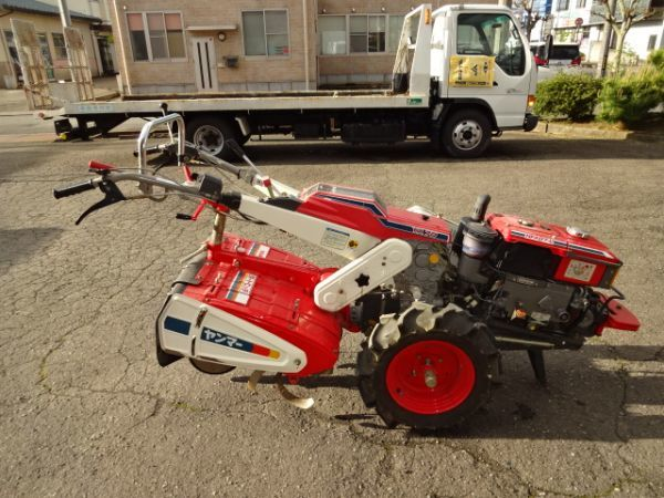 耕運機 ヤンマー YA 70 D セルスタート トラクター 動画_画像7