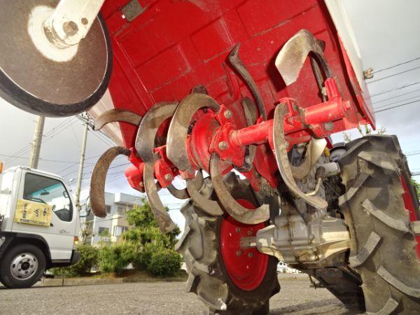 耕運機 ヤンマー YA 70 D セルスタート トラクター 動画_画像9