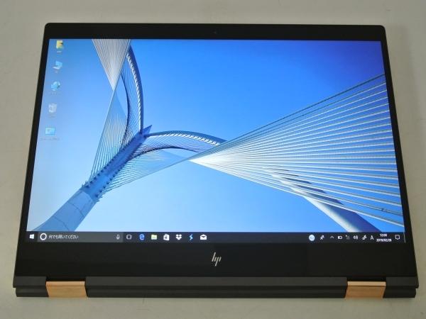 Spectre x360 15-ch011TX コンバーチブルPC Core i7 8705G 3.1GHz 4コア/16GB/M.2 SSD512GB/4K/Win10Pro/Office/中古美品、新品同様※3752_画像3