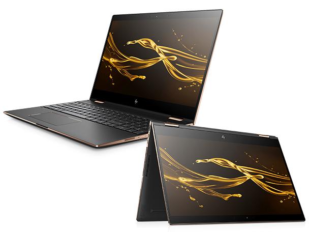 Spectre x360 15-ch011TX コンバーチブルPC Core i7 8705G 3.1GHz 4コア/16GB/M.2 SSD512GB/4K/Win10Pro/Office/中古美品、新品同様※3752_画像1