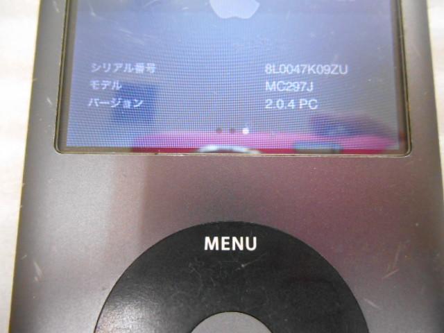 ★ ジャンク扱い iPod classic 160GB A1238 ④_画像2