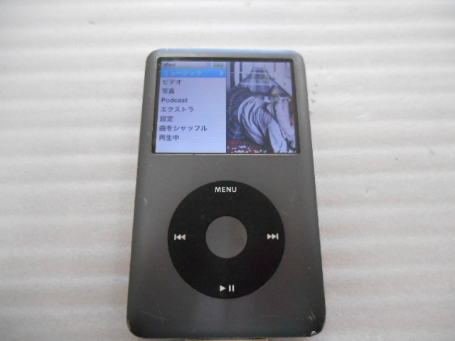 ★ ジャンク扱い iPod classic 160GB A1238 ④