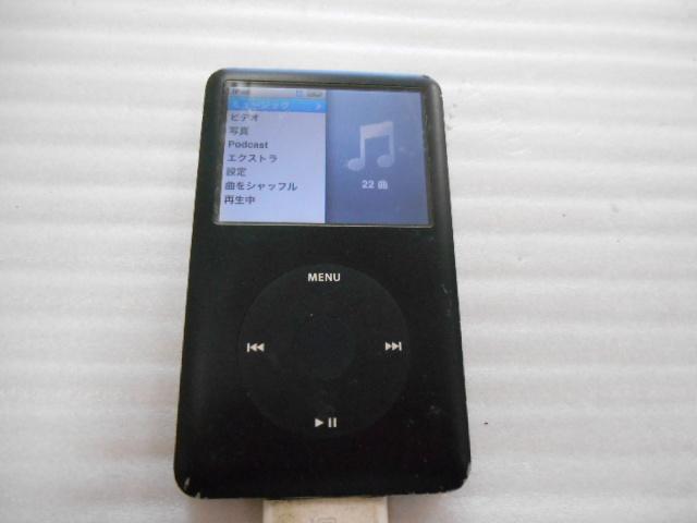 ★ ジャンク扱い iPod classic 80GB A1238 ⑤