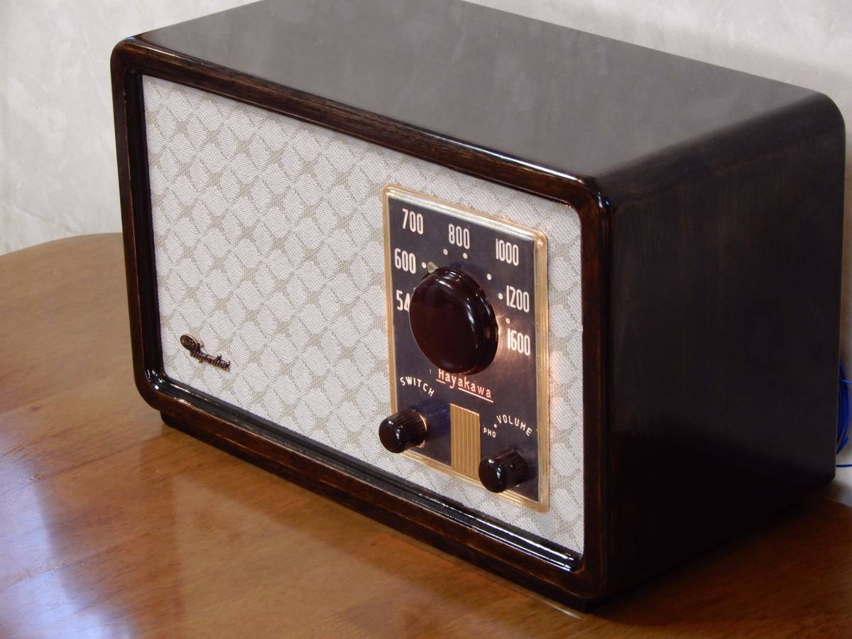 真空管ラジオ シャープ 5R-75型 【整備済】_画像2