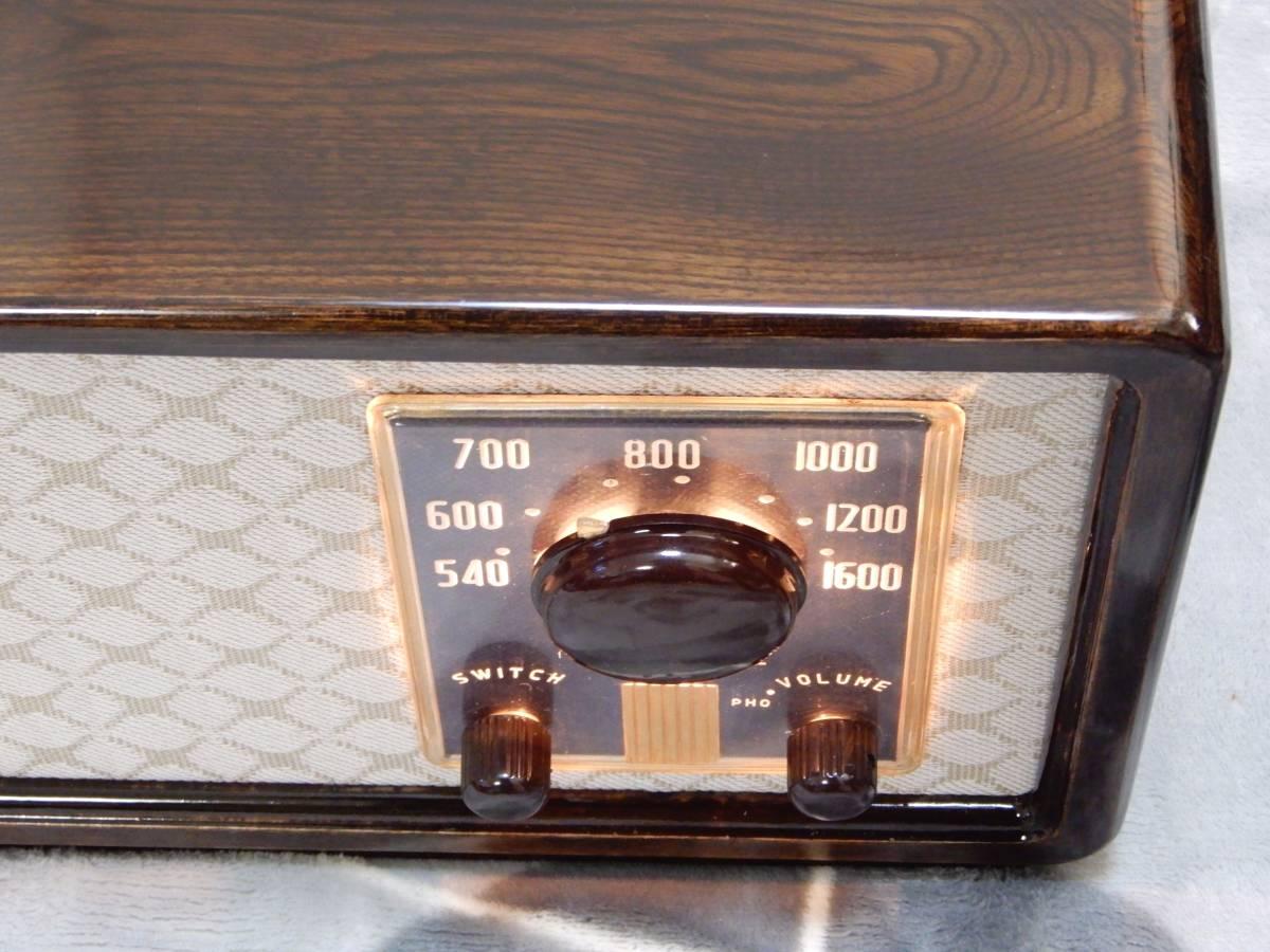 真空管ラジオ シャープ 5R-75型 【整備済】_画像4