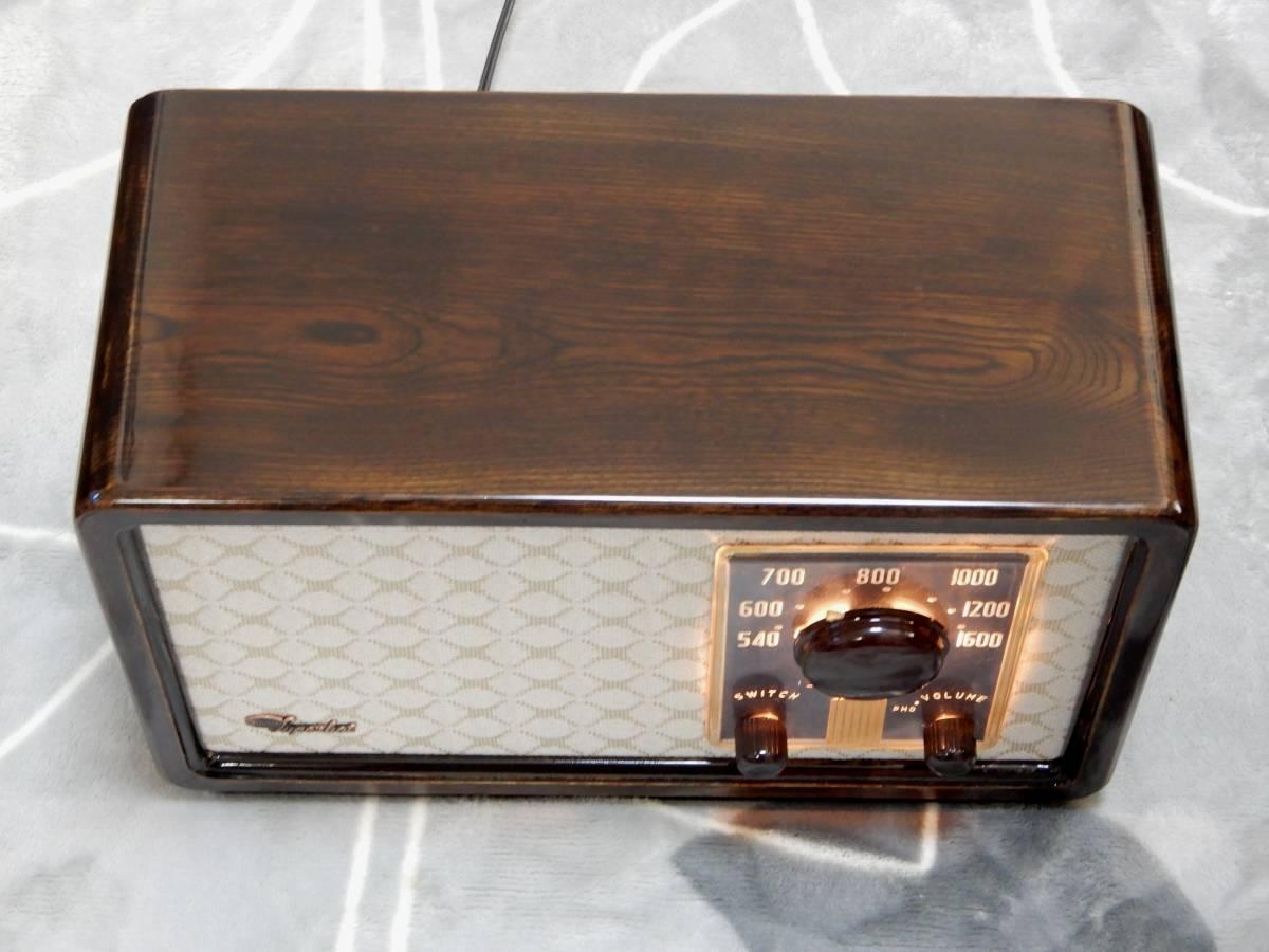真空管ラジオ シャープ 5R-75型 【整備済】_画像5